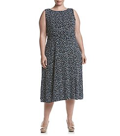 Jessica Howard® Plus Size Printed Dress