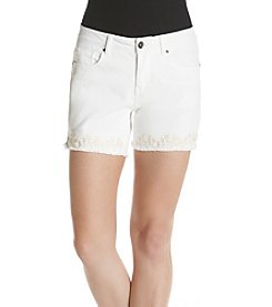 Ruff Hewn Embroidered Shorts