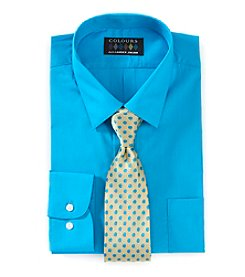 Alexander Julian® Shirt And Tie Set