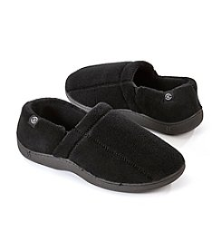 Isotoner Signature® Microterry Hoodback Slippers