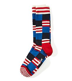 Happy Socks® Geo Print Dress Socks