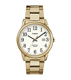 Timex® Men's Easy Reader Goldtone Stainless Steel Strap Watch