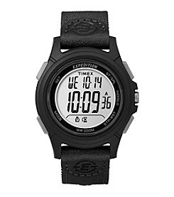 Timex® Men's Expedition Digital Core Black Nylon Strap Watch