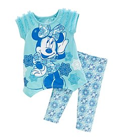 Disney® Girls' 2T-6X Minnie Pullover Set