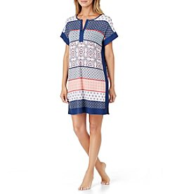 Ellen Tracy® Printed Nightgown