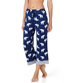 Ellen Tracy® Wideleg Elephant Capri Pants