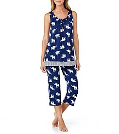 Ellen Tracy® Elephant Print Pajama Set