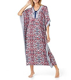 Ellen Tracy® Long Ikat Caftan