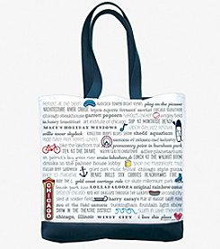 Tandem for Two Chicago Bucket List Tote