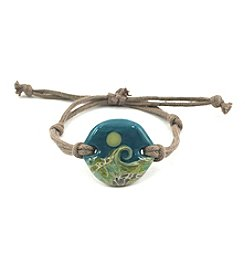 Aspiring Artists of the Earth Beaches Glass Bracelet