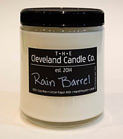 The Cleveland Candle Co. Rain Barrel Candle Jar