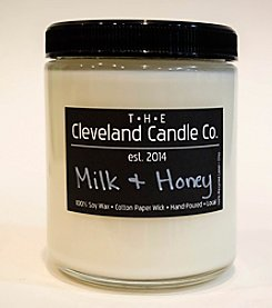 The Cleveland Candle Co. Milk & Honey Candle Jar