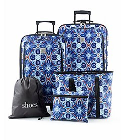 Travel Quarters Medallion 5-Pc. Luggage Set