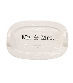 Mud Pie® Mr. & Mrs. 2017 Platter