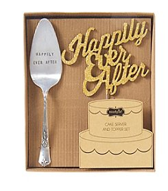 Mud Pie® Happily Ever After Cake Server Set