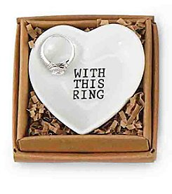 Mud Pie® Ring Heart