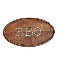 Mud Pie® Circa BBQ Oval Wood Board