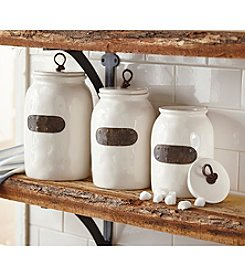 Mud Pie® Bistro Canisters