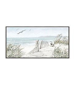 Artissimo Designs Coastal Dunes Canvas Wall Art