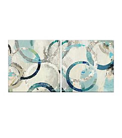 Artissimo Designs Rio Set Of Two Canvas Wall Art