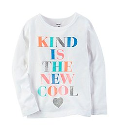Carter's® Baby Girls' Kind Is The New Cool Top