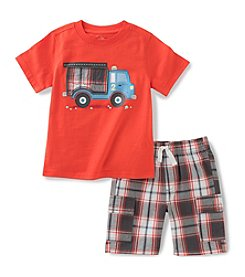 Kids Headquarters® Boys' 2T-7 2-Piece Firetruck Set