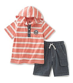 Kids Headquarters® Boys' 2T-7 2-Piece Born To Ride Shortset