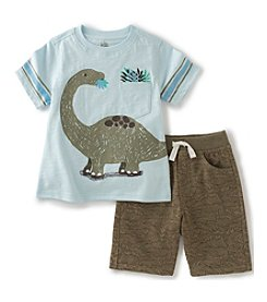 Kids Headquarters® Boys' 2T-7 2-Piece Dino Set