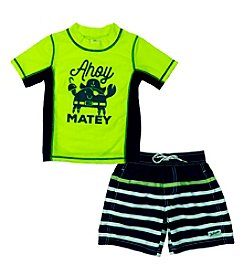 Carter's® Boys' 2T-4T 2-Piece Matey Swim Set