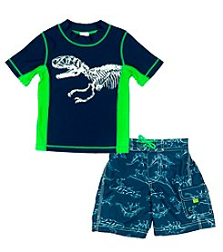 Carter's® Boys' 2T-7 2-Piece Dino Swim Set
