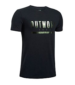Under Armour® Boys' 8-20 Outwork Tee