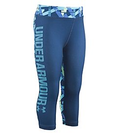 Under Armour® Girls' 2T-6X Mix Master Capri Pants