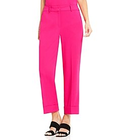 Vince Camuto® Cuffed Crop Pants