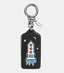 COACH BOXED ROCKET HANGTAG BAG CHARM