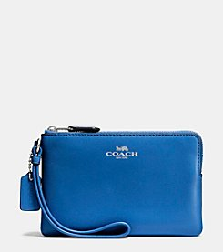 COACH BOXED SMALL WRISTLET IN CALF LEATHER