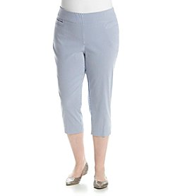 Studio Works® Plus Size Striped Capri