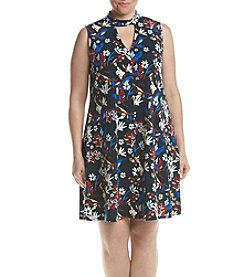 Relativity® Plus Size Printed Dress