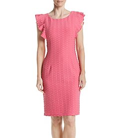 Adrianna Papell® Wavy Textured Shift Dress