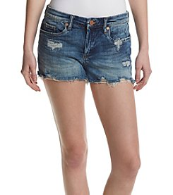 BLANKNYC® Destructed Fray Hem Shorts