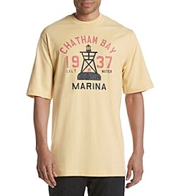 Izod® Men's Big & Tall Boat Marina Graphic Tee
