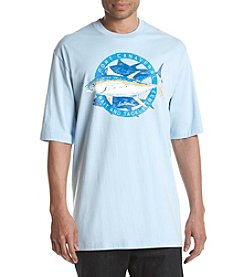 Izod® Men's Big & Tall Port Canaveral Bait & Tackle Graphic Tee