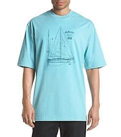 Izod® Men's Big & Tall Saltwater 37 Class Graphic Tee