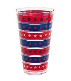 Living Quarters Americana Highball Glass