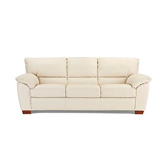 Natuzzi Editions Trento Bone Leather Living Room