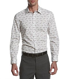 Perry Ellis® Men's Paisley Print Silky Stretch Shirt