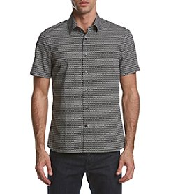 Perry Ellis® Men's Short Sleeve Dot Shirt