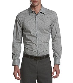 Perry Ellis® Men's Two Color Paisley Shirt