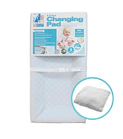 L.A. BABY 4-Sided Changing Pad and Terry Cover Combo Pack