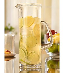 Qualia 72-Oz. Straight Sided Glass Pitcher