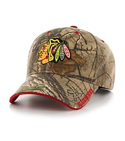 Fan Favorite NHL® Men's Chicago Blackhawks Mass Realtree Frost Cap